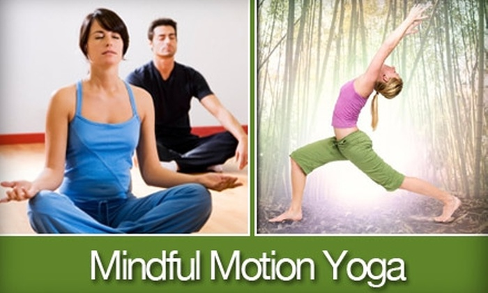 Mindful Motion Yoga - Windy Hill: $29 for One Month of Unlimited Classes at Mindful Motion Yoga ($85 Value)
