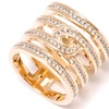 Cubic Zirconia Pavé Eternity Ring