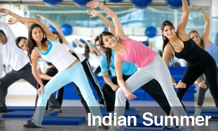 Indian Summer - Akron / Canton: $6 for Two Drop-In Fitness Classes at Indian Summer