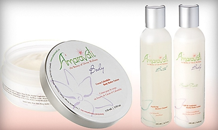 Amaravati: $25 for $55 Worth of Organic Bath and Body Products from Amaravati
