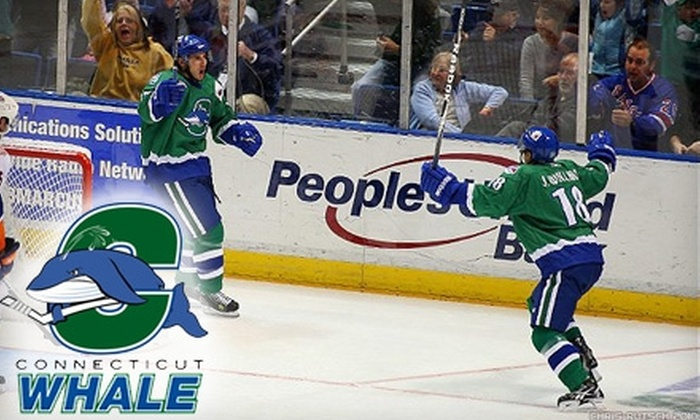 Connecticut Whale - Downtown: One Lower Level or Upper-Level Ticket to the Connecticut Whale vs. Manchester Monarchs (Up to $19 Value). Choose from Two Options.