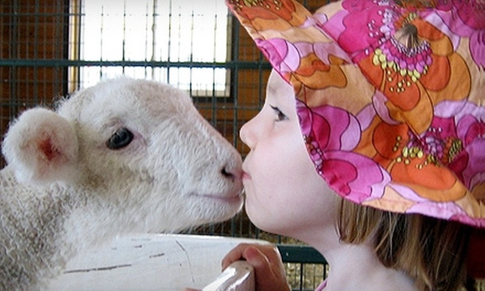 Green Meadows Petting Farm - 7, Urbana: $12 for Two General-Admission Tickets to Green Meadows Petting Farm in Frederick ($24 Value)