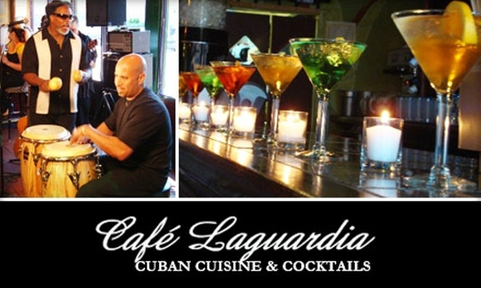 Cafe Laguardia - Bucktown: $20 for $40 of Home-Cooked Cuban Fare and Drinks at Café Laguardia
