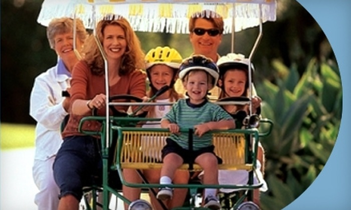Wheel Fun Rentals - Fort Myers: $13 for $27 Worth of Boat, Kayak, Bike, or Surrey Rentals at Wheel Fun Rentals