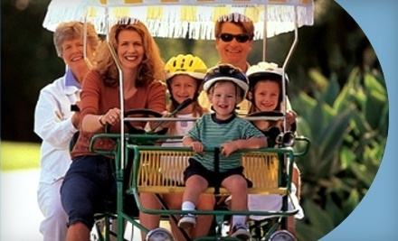 $27 Groupon to Wheel Fun Rentals - Wheel Fun Rentals in Fort Myers