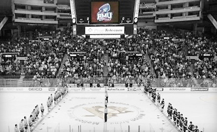 RMU Hockey Showcase on Fri., Dec. 30 at 1PM, 4PM, and 7:35PM: Sections 110, 114, 115, 121 & 122 Seating - Robert Morris University Hockey Showcase in Pittsburgh