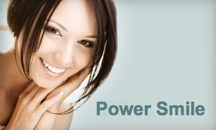 Hair Ink - Nob Hill: $149 for a Power Smile Teeth-Whitening Treatment at Hair Ink