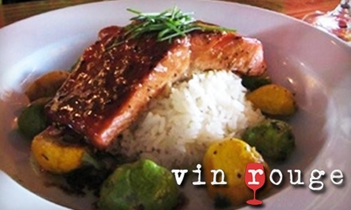 Vin Rouge - Lincoln Heights: $15 for $30 Worth of Dinner Fare or $6 for $12 of Brunch or Lunch Fare at Vin Rouge