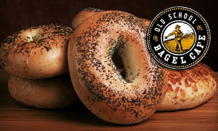 Old School Bagel Café  - Brookside: $4 for $8 Worth of Bagels and More at Old School Bagel Café