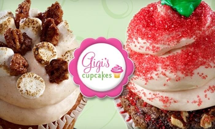 Gigi's Cupcakes - Forest Hills: $9 for Half-Dozen Gourmet Cupcakes at Gigi's Cupcakes ($18 Value)