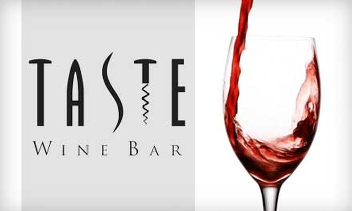 Taste Wine Bar - Mobile / Baldwin County: $10 for $20 Worth of Drinks at Taste Wine Bar and Shop