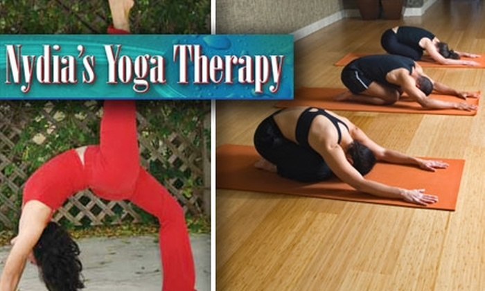 Nydia's Yoga Therapy - Woods of Shavano: $40 for Five-Class Pass Plus Two Free Classes at Nydia's Yoga Therapy ($85 Value)