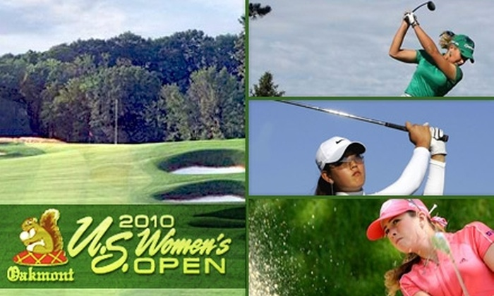 2010 U.S. Women's Open - Oakmont: $45 for Two General-Admission Tickets to the 2010 U.S. Women's Open ($90 Value)