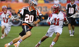Denver Outlaws: Denver Outlaws Lacrosse with Hot Dog and Beer on Saturday, June 18, at 7:30 p.m.