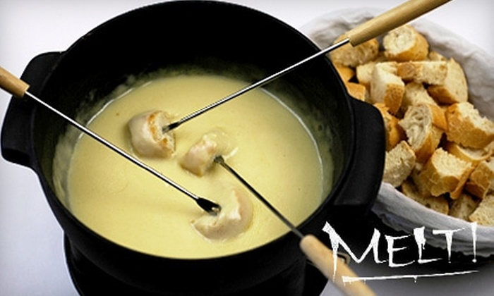 Melt! - North Beach: $10 for $20 Worth of Fondue, Small Plates, & Drinks at Melt!