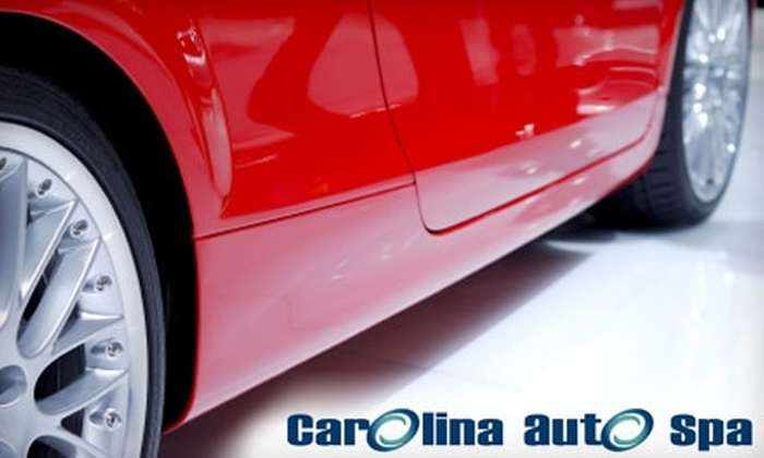 Carolina Auto Spa - Multiple Locations: Full-Service Detailing at Carolina Auto Spa. Choose from Three Options.