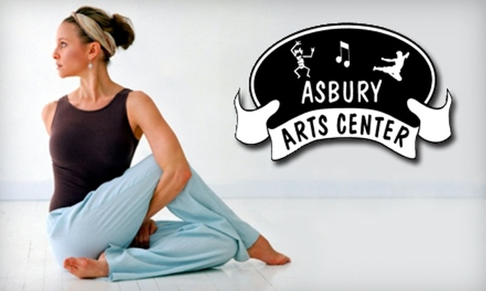 Asbury Arts Center - Penney Farms: $15 for One Month of Unlimited Yoga and Zumba Classes at Asbury Arts Center