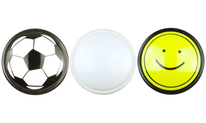 Battery-Operated LED Push Lights: 2-Pack of Novelty LED Push Lights. Free Returns.