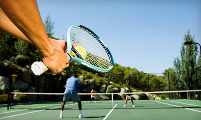 Whittier Narrows Tennis Center - South El Monte: One-Month Membership or Three 90-Minute Clinic Lessons at Whittier Narrows Tennis Center in South El Monte
