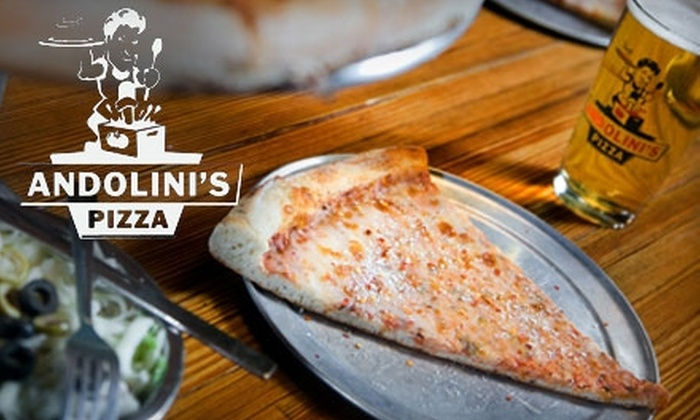 Andolini's Pizza - Multiple Locations: $7 for $15 Worth of Gourmet Pies and Calzones at Andolini's Pizza