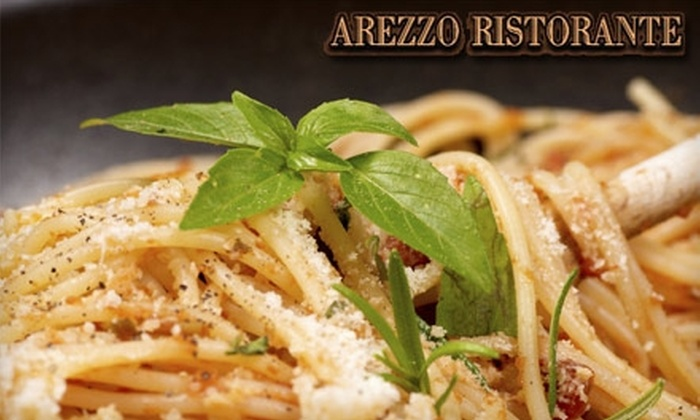 Arezzo Ristorante - Edina: $20 for $40 Worth of Italian and Neapolitan Cuisine, Beer, and Wine at Arezzo Ristorante