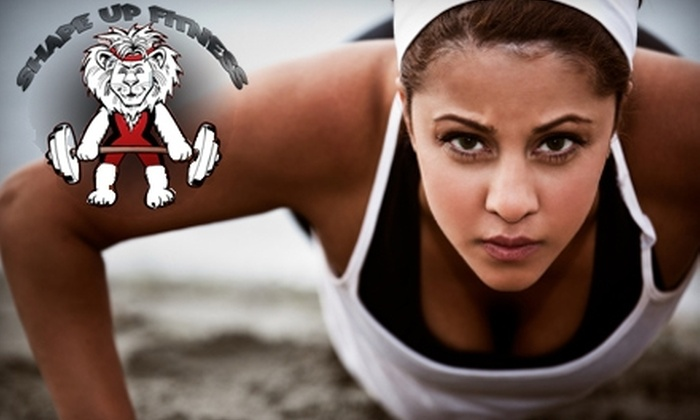 Shape Up Fitness - Multiple Locations: $40 for Four Weeks of Unlimited Boot Camp from Shape Up Fitness