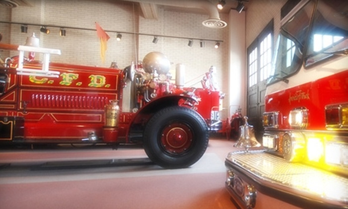 Fire Museum of Greater Cincinnati - West End: $3 for One Admission (Up to $7 Value) or $20 for a One-Year Family Membership ($40 Value) to the Fire Museum of Greater Cincinnati
