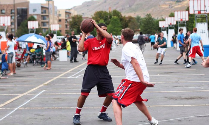 SLC Hoopfest - Salt Lake City: $55 for Entry for a Team of 3 to the SLC Hoopfest ($100 value)