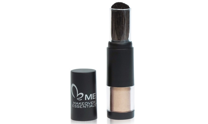 Makeover Essentials Shimmer Powder Brush in Bronze