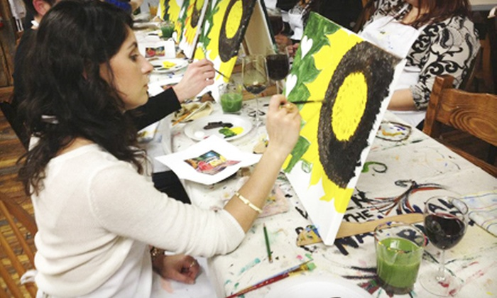 Wet Paint Art Classes