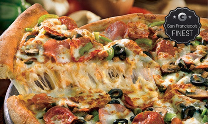 Papa John's Pizza - Multiple Locations: X-Large Pizza or Pizza with Up to 5 Toppings & 3-Pack of IT'S-IT Ice Cream at Papa John's Pizza (Up to $28.98 Value)