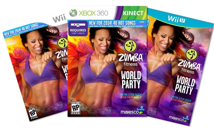 Zumba Fitness World Party for Xbox 360 Kinect, Wii U, or Wii: Zumba Fitness World Party for Xbox 360 Kinect, Wii U, or Wii from $26.99–$39.99. Free Returns.