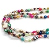 64-In. Multicolor Freshwater Pearl Endless Necklace