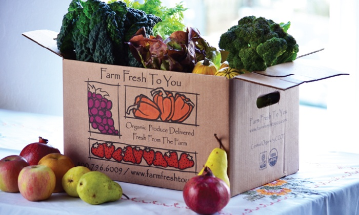 Farm Fresh To You - San Jose: $17 for $33 Worth of Delivered Organic Produce from Farm Fresh To You