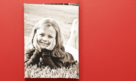 16x20 Canvas Photo Print or 18x24 Custom Wall Decal from Pics to Posters (51% Off)