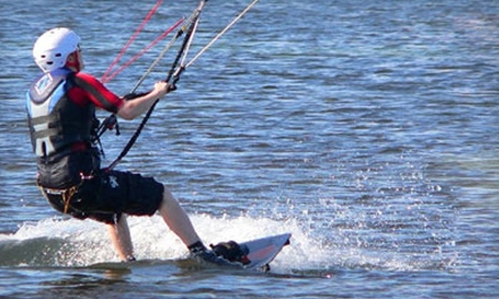 Lakawa School of Kiteboarding - White Bear Lake: $50 for Intro to Kiteboarding Ground Lesson from Lakawa School of Kiteboarding