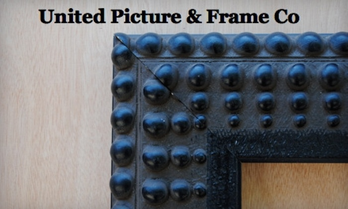 United Picture & Frame Co. - Mid Central: $40 for $100 Worth of Customized Framing and Custom-Framed Mirrors at United Picture & Frame Co.