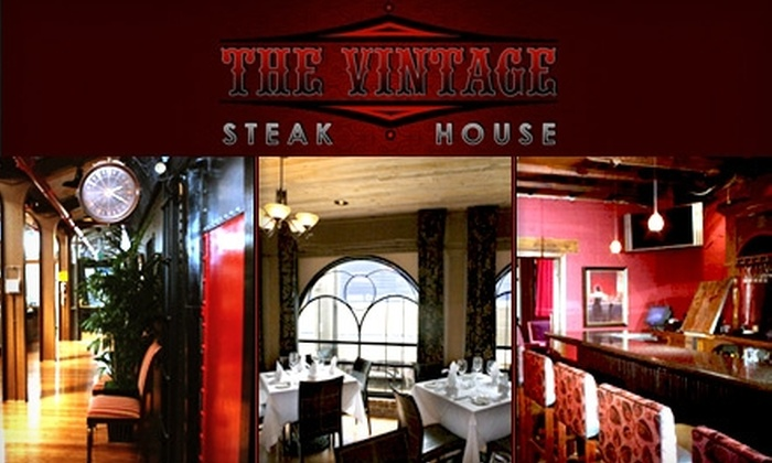 The Vintage Steakhouse - San Juan Capistrano: $35 for $70 Worth of Fine Chophouse Cuisine and Drinks at The Vintage Steakhouse