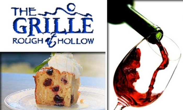 The Grille at Rough Hollow - Austin: $25 for $50 Worth of Casually Elegant Fare from The Grille at Rough Hollow