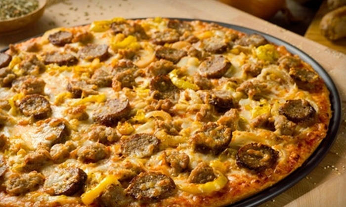 Donatos - Multiple Locations: $6 for a Large North Coast Double Sausage Pizza at Donatos