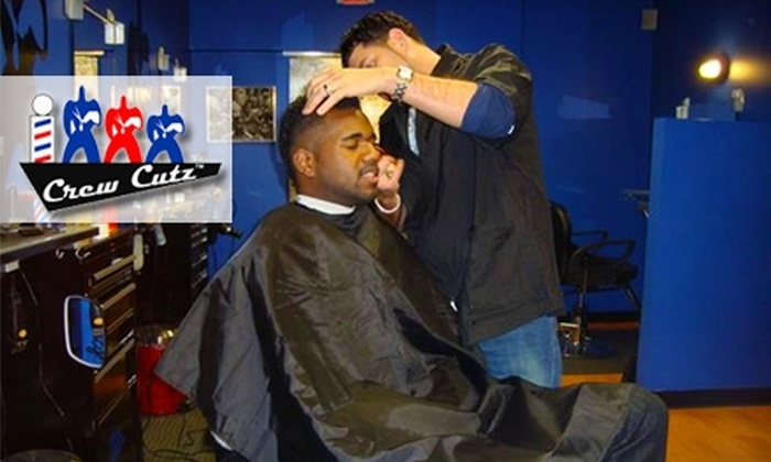 Crew Cutz - Quincy: $30 for Three Haircuts at Crew Cutz