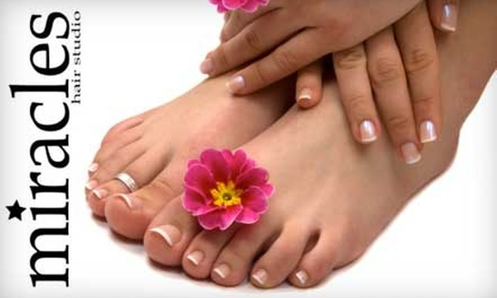 Miracles Hair Studio - Fayetteville: $30 for a Mani-Pedi at Miracles Hair Studio ($60 Value)