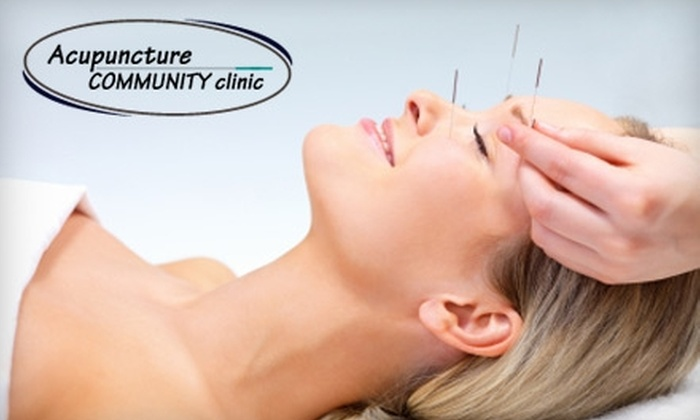 Acupuncture Community Clinic - Multiple Locations: $25 for Acupuncture, Cupping, or Reiki at Acupuncture Community Clinic