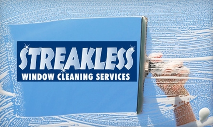 Streakless Window Cleaning Services LLC - Fort Worth: $40 for $80 Worth of Window Cleaning with Streakless Window Cleaning Services