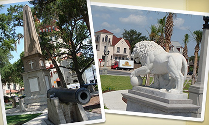 "City Walks - Spanish Quarter: $6 for One Ticket to ""The Plaza Stroll: Secrets of the Plaza de la Constitución"" Walking Tour from St. Augustine City Walks (Up to $12 Value)"