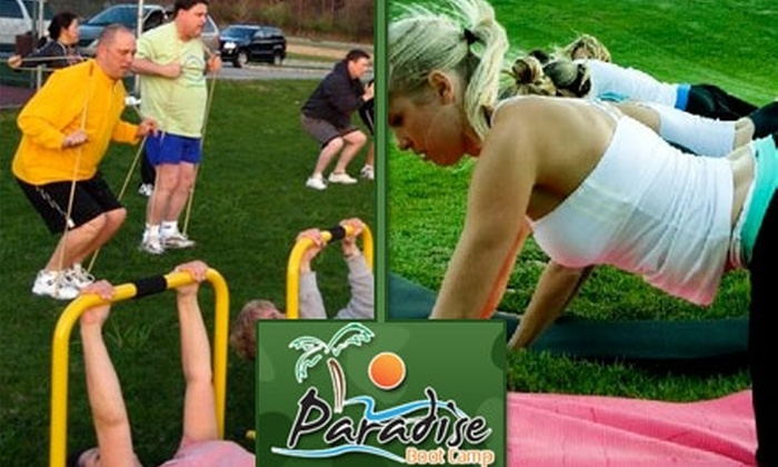 Paradise Boot Camp - Dunedin: $30 for Four Weeks of Fitness Boot-Camp Classes at Paradise Boot Camp ($284 Value)