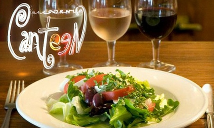 California Canteen - Hollywood Hills: $30 for $60 Worth of French Cuisine at California Canteen