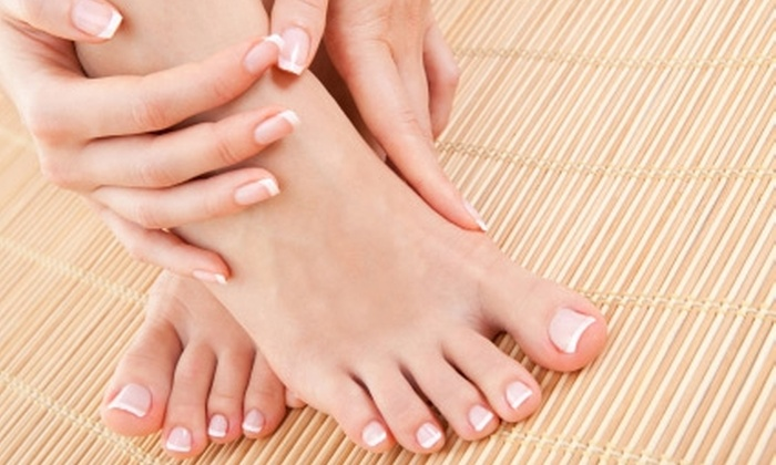 Accents Salon - Fairport: $35 for Deluxe Manicure and European Spa Pedicure at Accents Salon in Fairport ($70 Value)