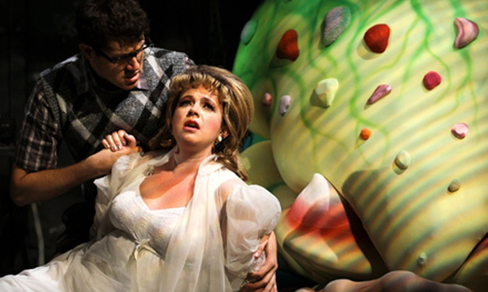"Little Shop of Horrors - Old Town: One Ticket to See Cygnet Theatre Company's ""Little Shop of Horrors"" at Old Town Theatre. 13 Showtimes Available."