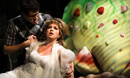 Little Shop of Horrors at Old Town Theatre on Wed., Sept. 21 at 7:30PM: Premium Seating - Little Shop of Horrors in San Diego